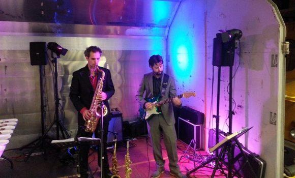 The Mood Tunes - sax en gitaar duo