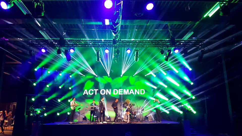 Act on Demand coverband bruiloft