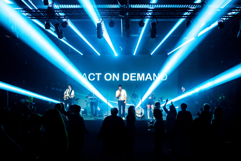 Act on Demand coverband